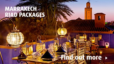 7-night Marrakech riad package