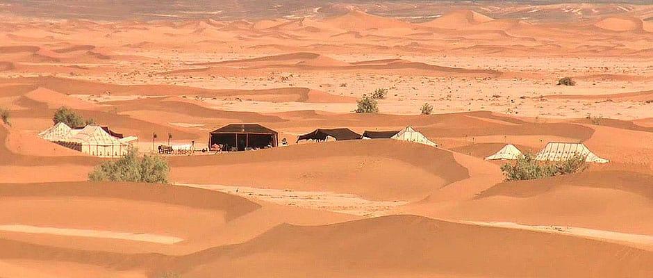 Camping In Moroccos Sahara Desert Luxury Desert Camp Morocco - Sahara desert location
