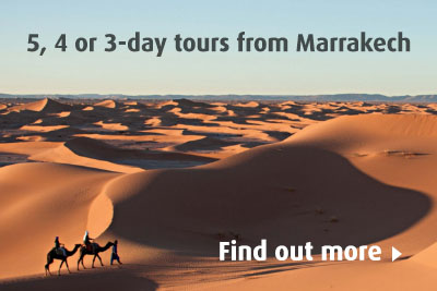 5, 4 or 3-day packages to the desert