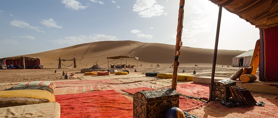 Luxury Private Camping In The Sahara Desert Of Morocco